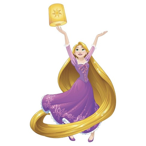 Disney Sparkling Rapunzel Giant Wall Decals - image 1 of 1