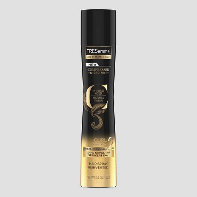 Hair Spray: TRESemmé Compressed Curl Hairspray Hold Level 2