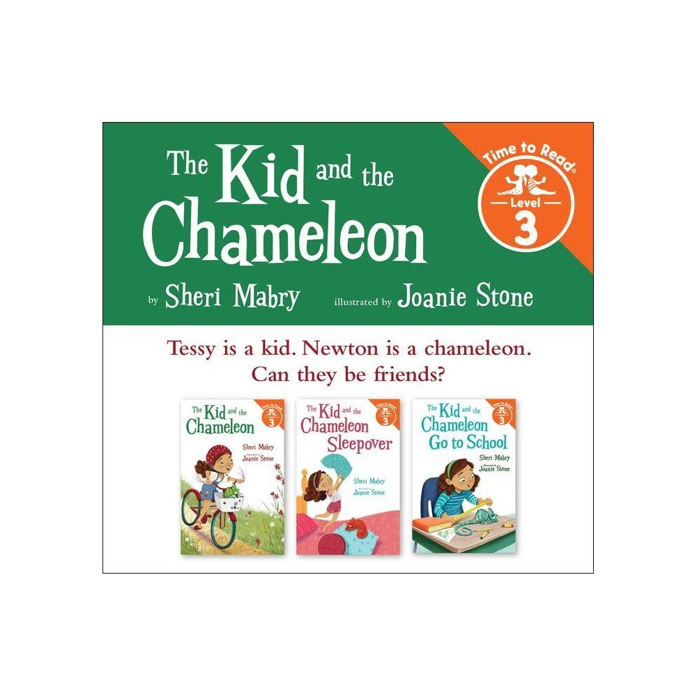 The Kid And The Chameleon Set 1 The Kid And The Chameleon Time To Read Level 3 By Sheri Mabry Paperback