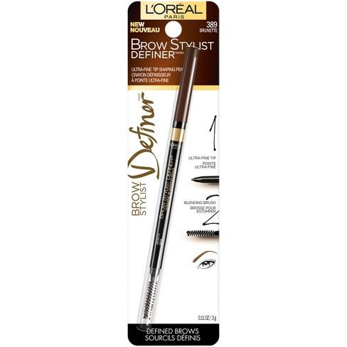 L'Oreal® Paris Brow Stylist Definer 389 Brunette - 0.11oz - image 1 of 3