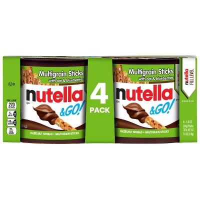 Nutella and Go Multigrain - 4pk