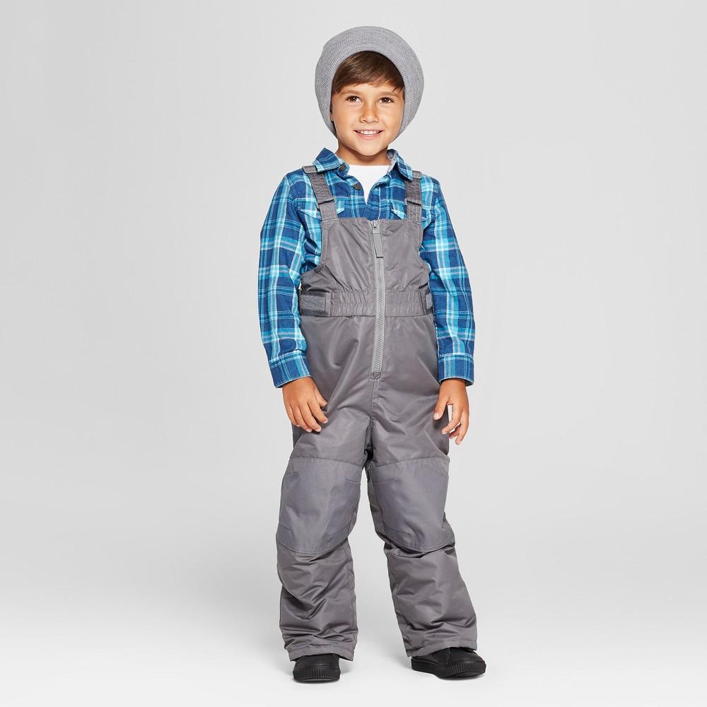 Toddler Boys' Snow Pants - Cat & Jack Gray 7