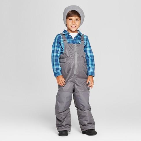 b350225b3 Toddler Boys  Snow Pants - Cat   Jack™ Gray   Target