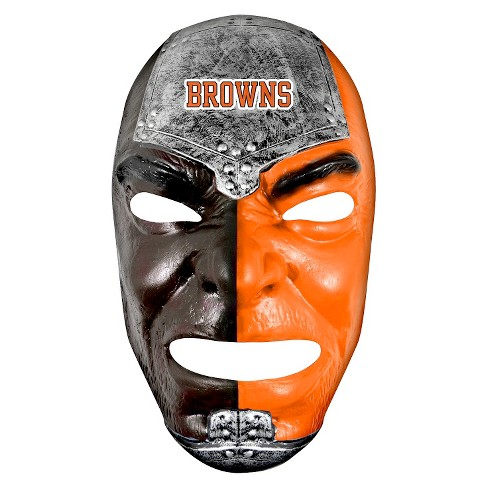 Cleveland Browns Franklin Sports Fan Face Mask - image 1 of 1