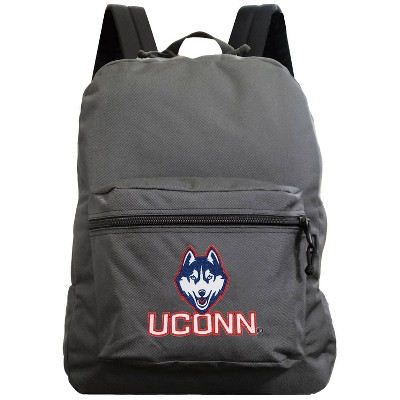 NCAA UConn Huskies Gray Premium Backpack