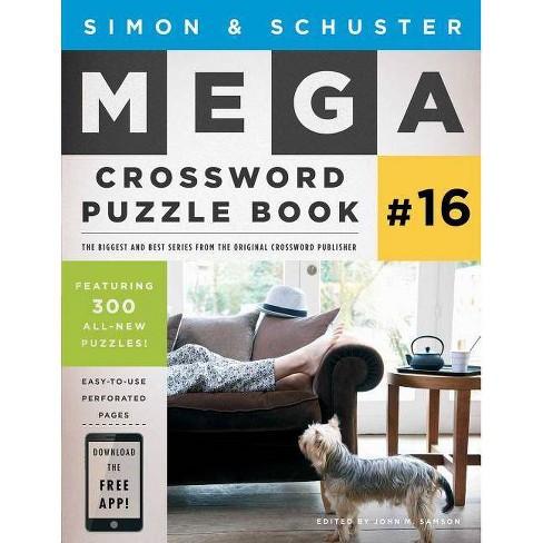 Simon & Schuster Mega Crossword Puzzle Book #16 - (Simon & Schuster Mega Crossword Puzzle Books) - image 1 of 1