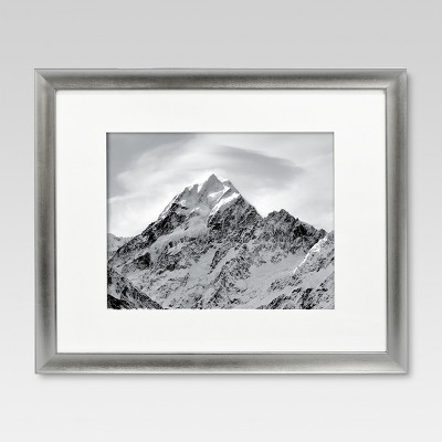 16 x20  Matted for 11 x14  Silver Frame - Threshold™