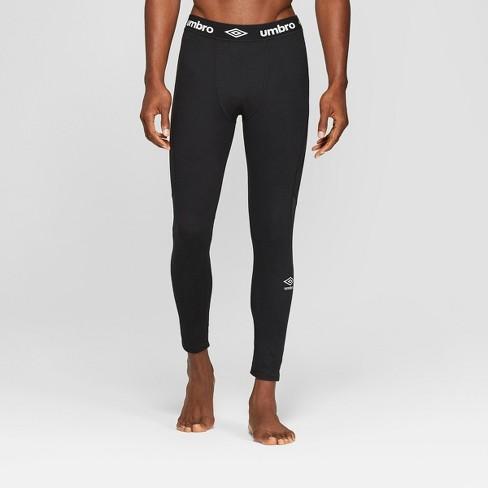 Umbro Men's Mesh Pieced Compression Tight Leggings - image 1 of 3