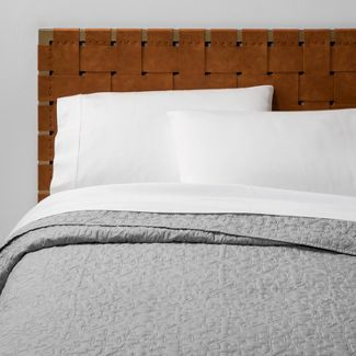 Twin/Twin XL Garment Washed Quilt Gray - Opalhouse™