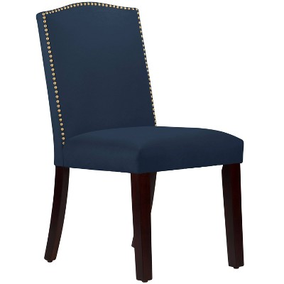 Nail Button Camel Back Dining Chair - Skyline Furniture