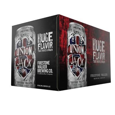 Firestone Walker Union Jack IPA Beer - 6pk/12 fl oz Cans