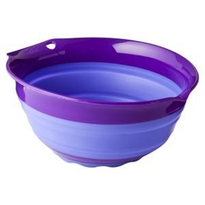 Squish 1.5 Quart Collapsible Bowl, Purple
