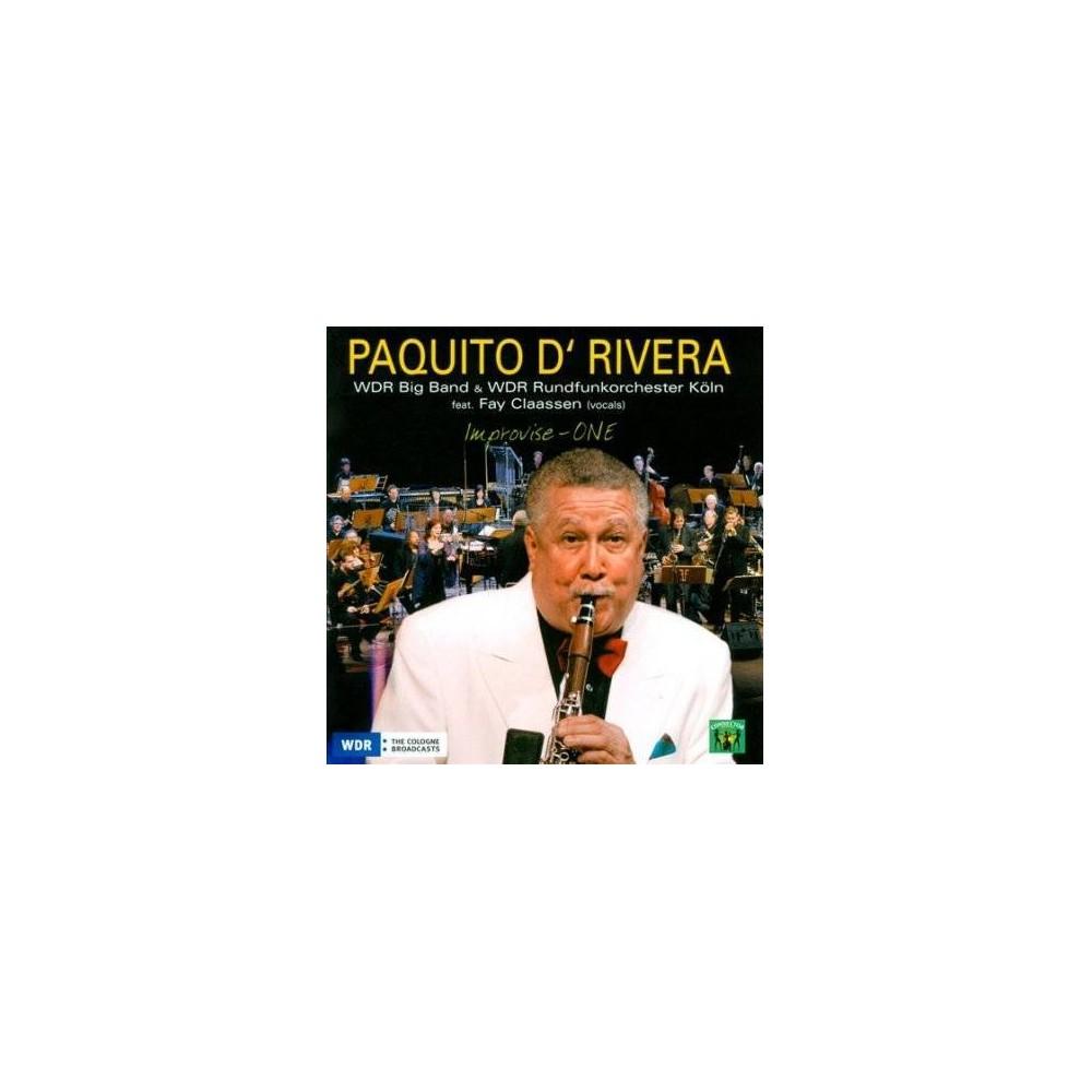 Paquito Drivera - Improvise One Live (CD)