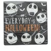 "Amscan Nightmare Before Christmas 6.5"" Party Lunch Napkins - 16 Count - image 2 of 3"