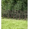 Plow & Hearth - Metal Garden Edging with Tree of Life Design - image 3 of 3