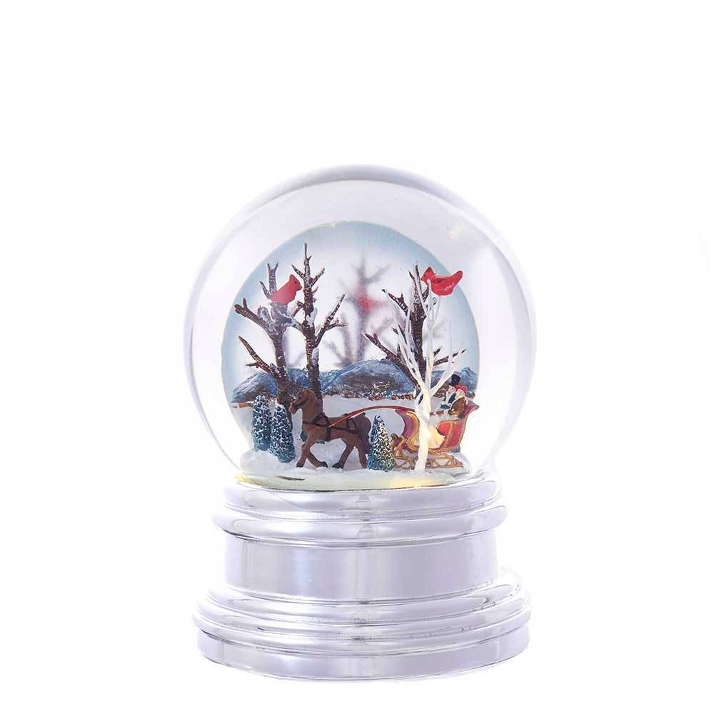 Image of 100mm Kurt Adler Battery Operated Lit Water Globe