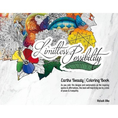 - Earths Beauty Coloring Book - By Metash Jilka (Paperback) : Target
