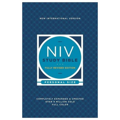 NIV Study Bible, Fully Revised Edition, Personal Size, Paperback, Red Letter, Comfort Print - by  Zondervan - image 1 of 1