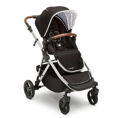 Mockingbird Single-to-Double Stroller - Black Canopy