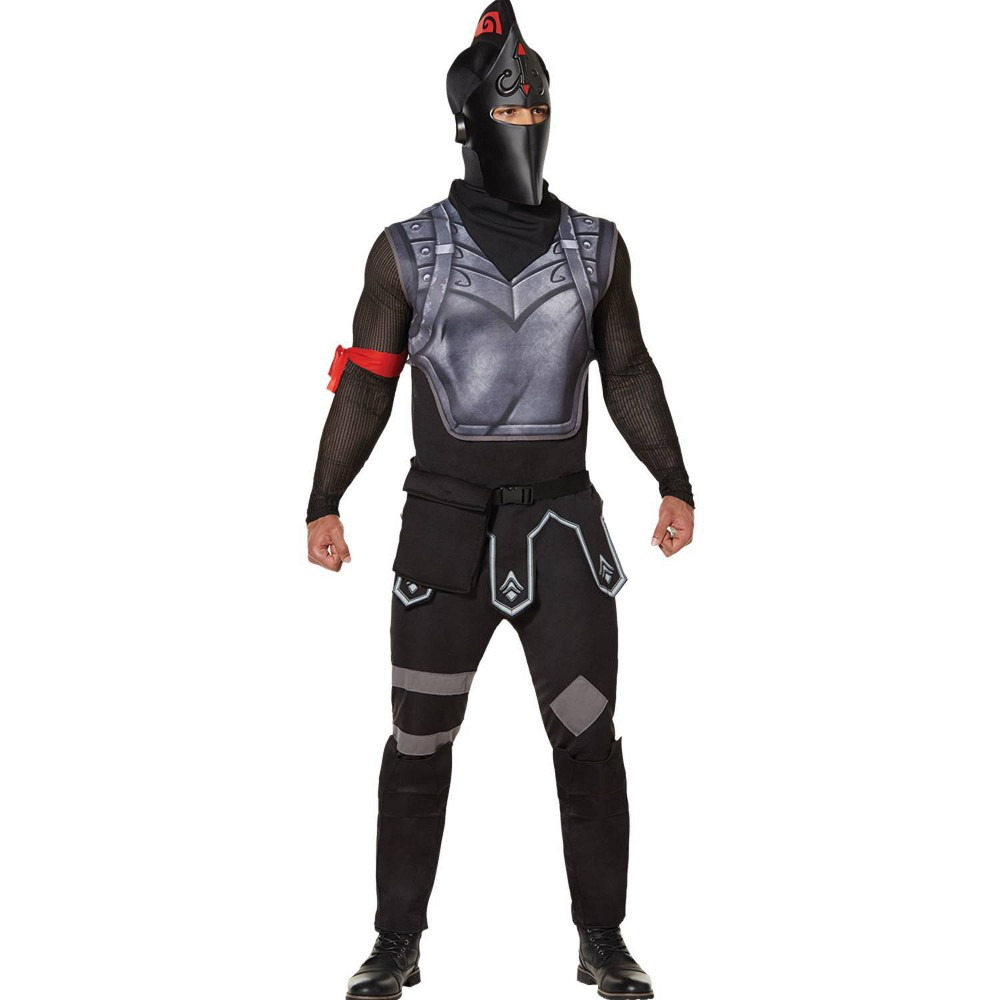 Image of Halloween Adult Fortnite Black Knight Halloween Costume L, Adult Unisex, Size: Large, MultiColored