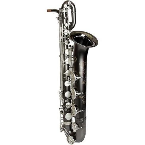 Sax Dakota SDB-1400 Professional Baritone Saxophone Gray Onyx - image 1 of 5
