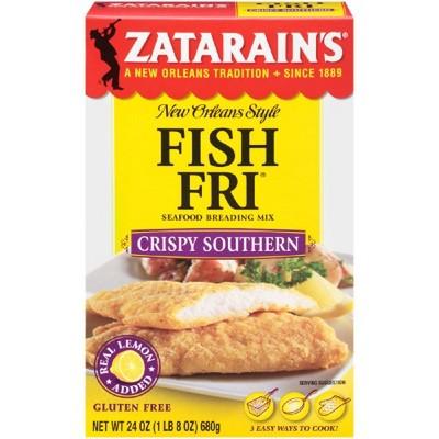 Zatarain's Seasoned FishFri Crispy Southern Style Mix - 24oz