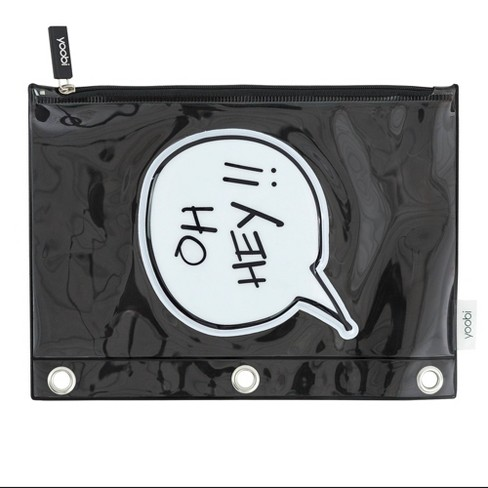 OH HEY!! Zip Pencil Cases - Yoobi™ - image 1 of 3
