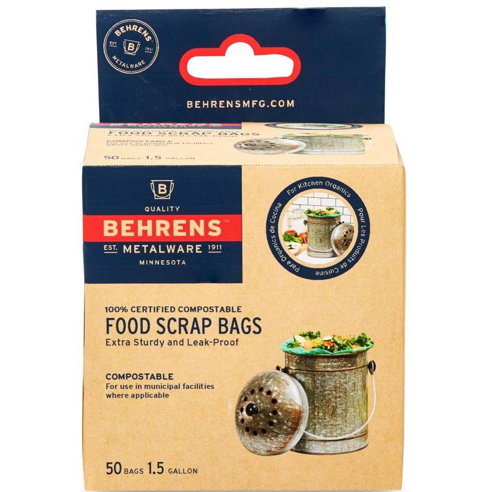 Image of Behrens Small 1.5gal Compost Bags