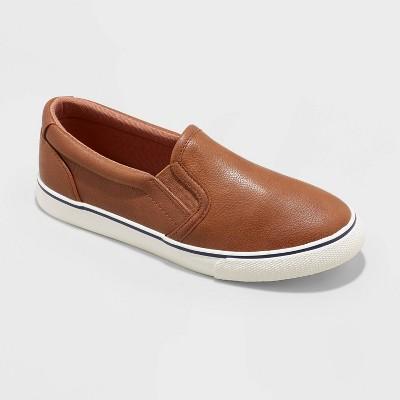 Boys' Slip-On Enzo Apparel Sneakers - Cat & Jack™ Brown