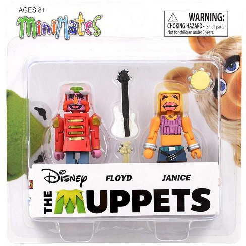 The Muppets Minimates Series 1 Floyd and Janice 2-Inch Minifigure 2-Pack - image 1 of 1