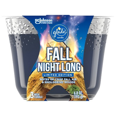 Glade Candle - Fall Night Long - 6.8oz