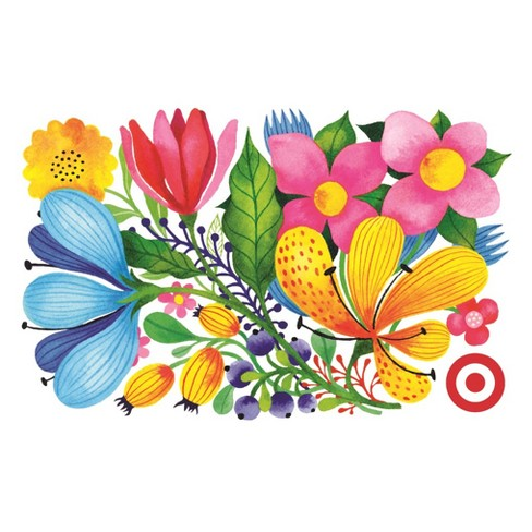 Floral Collage Gift Card - image 1 of 1