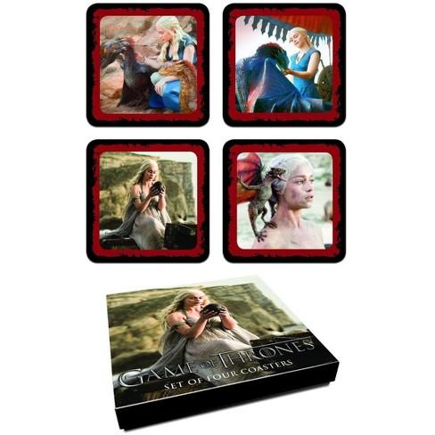 Dark Horse Comics Game Of Thrones Daenerys Targaryen Coaster Set - image 1 of 1