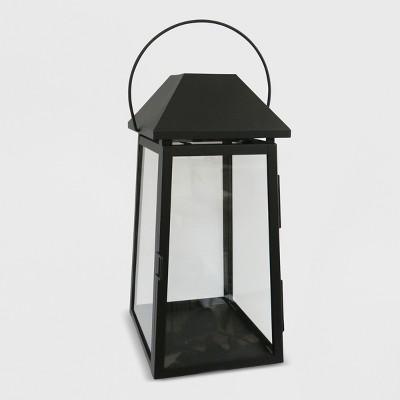 18  Outdoor Lantern Black Hood - Threshold™