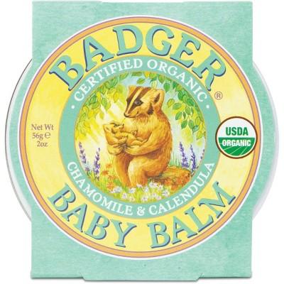 Badger Organic Baby Balm Skin Care - 2oz