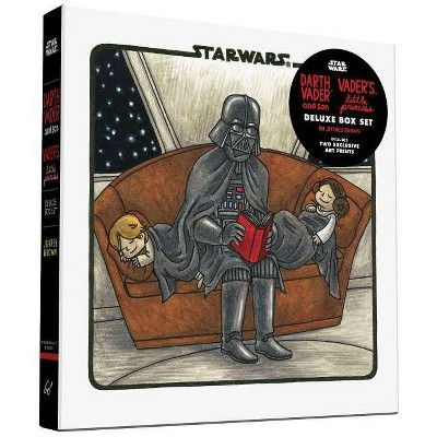 Darth Vader & Son / Vader's Little Princess Deluxe Box Set (Includes Two Art Prints) (Star Wars) - by  Jeffrey Brown (Hardcover)