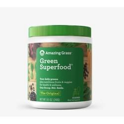 Amazing Grass Green Superfood Vegan Powder - Original - 8.5oz