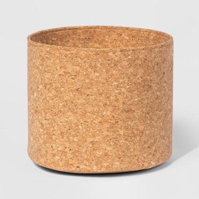 10  x 8.5  Decorative Cork Basket Brown - Project 62™