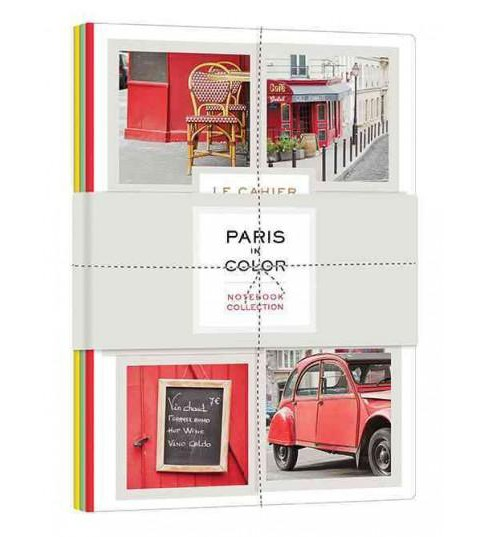Paris in Color Notebook Collection (Paperback) - image 1 of 1