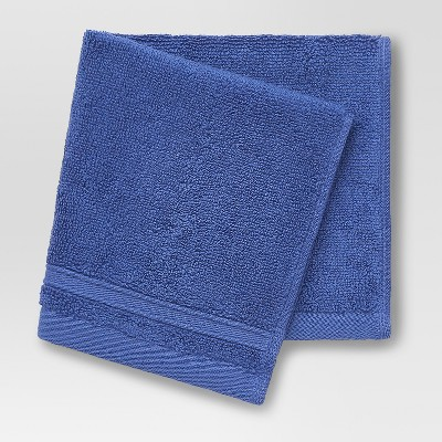 Performance Solid Washcloth True Navy - Threshold™