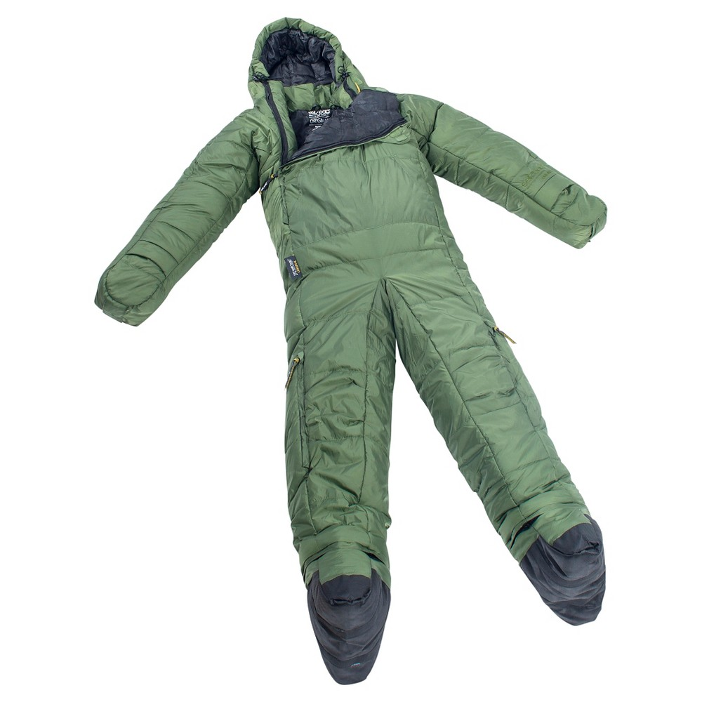 Selk'bag 5G Original 35 Degree Sleeping Bag - Evergreen (Small), Green