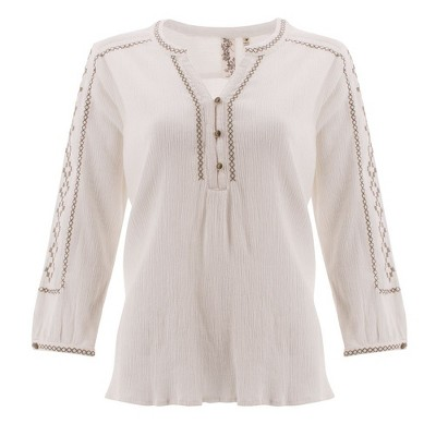 Aventura Clothing  Women's Hartley Peasant Top