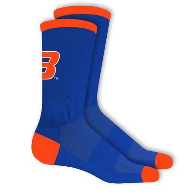 NCAA Boise State Broncos Big Game Crew Socks 10-13
