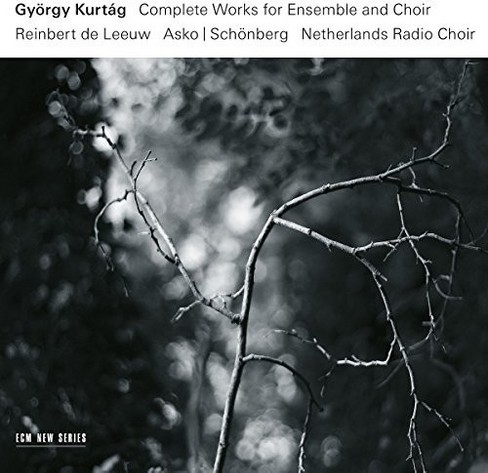 Gyorgy Kurtag - Kurtag:Complete Works For Ensemble An (CD) - image 1 of 1