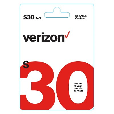 Verizon Wireless Prepaid Refill Card (Email Delivery)