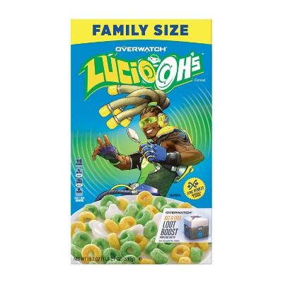 Breakfast Cereal: Lucio-Oh's
