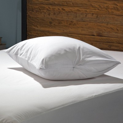 King 2pk Luxury Cotton Pillow Protector White - Sealy
