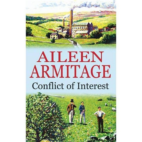 Conflict of Interest - (Severn House Large Print) by  Aileen Armitage (Hardcover) - image 1 of 1