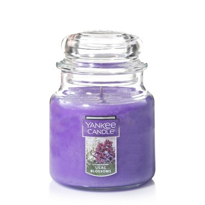 14.5oz Glass Jar Lilac Blossoms Candle - Yankee Candle