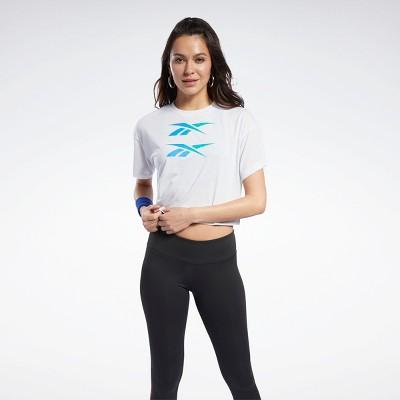 Reebok Boxy Tee Womens Athletic T-Shirts
